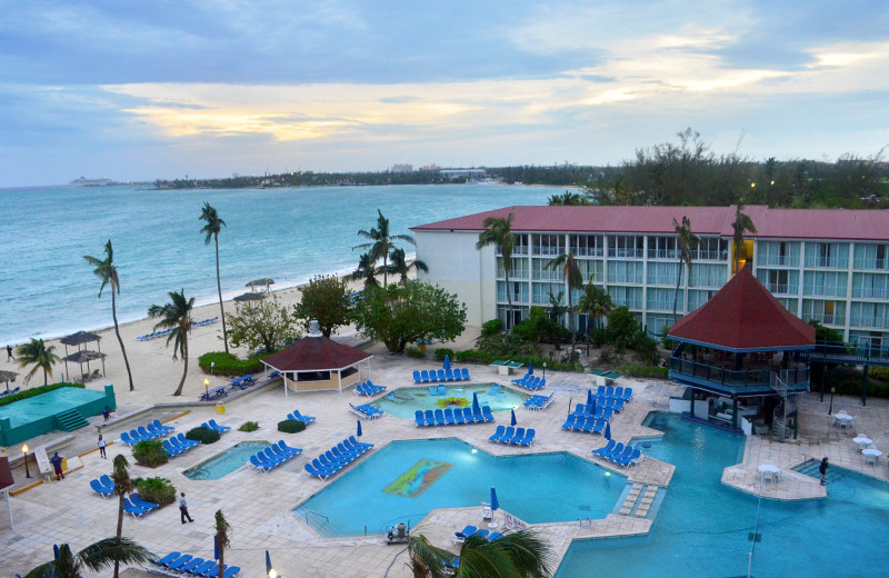 Bahamas Room View from one of the Breezes All Inclusive Resorts :: I've Been Bit! A Travel Blog