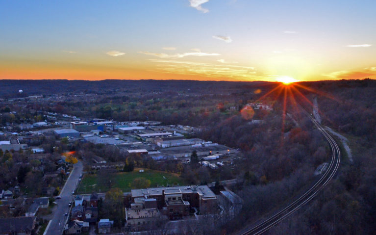 Sunset View From the Dundas Peak Trail Lookout :: I've Been Bit! Travel Blog