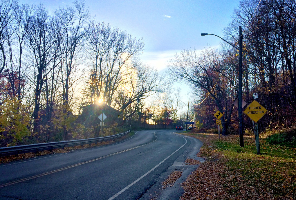 View from King Street in Dundas Ontario :: I've Been Bit! A Travel Blog