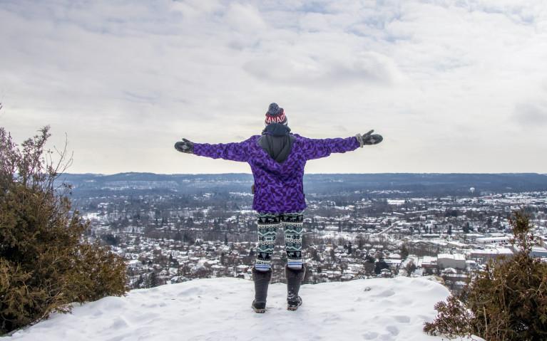 Dundas Peak Winter View :: I've Been Bit! A Travel Blog