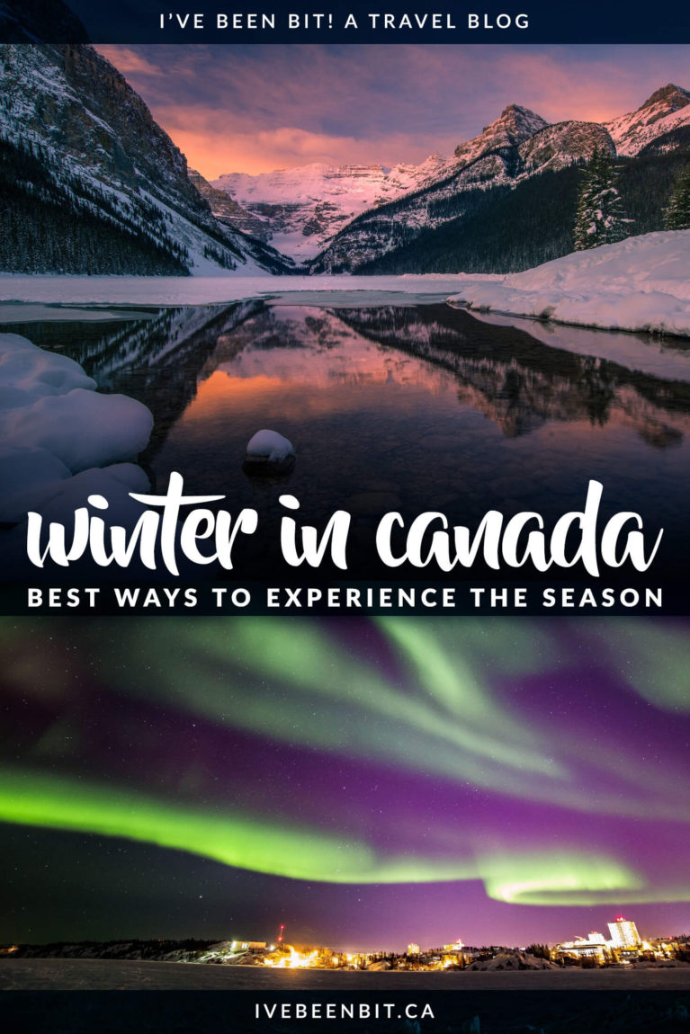 Wondering if you should visit Canada in the winter? The answer is YES! Check out all of these incredible things to do in Canada in winter and start planning your adventure! | Winter in Canada | Things to Do in Toronto Canada in Winter | Canada Winter Travel | Ontario Winter Travel | Ontario Winter Activities | Canada Winter Activities | Alberta Winter Travel | What to Do in Canada in Winter | #Canada #WinterTravel | IveBeenBit.ca