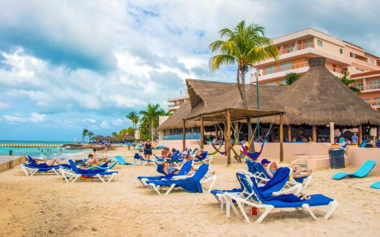 Views of an All Inclusive Resort in Cozumel :: I've Been Bit! A Travel Blog