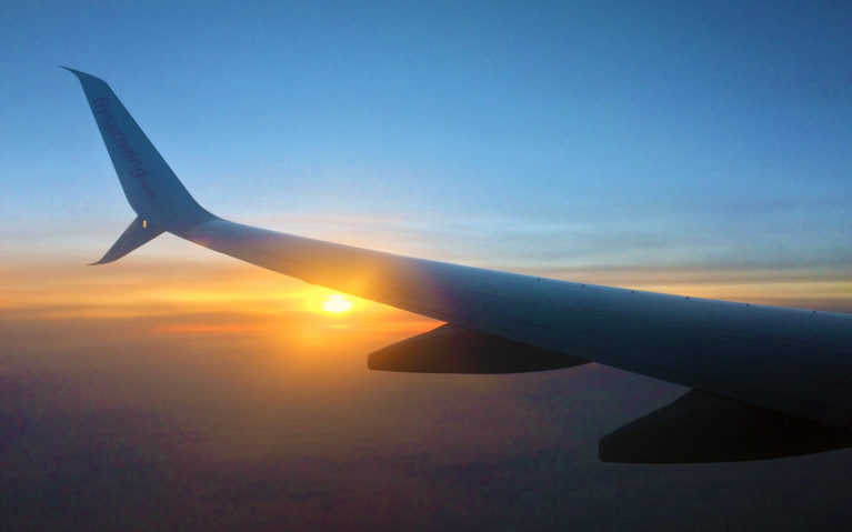 Airplane View from the Window Seat :: I've Been Bit! A Travel Blog