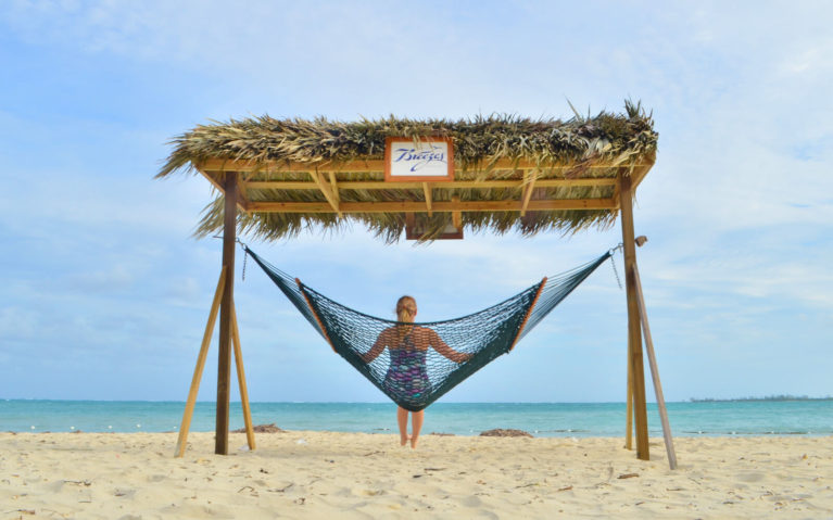 On a Hammock at an All Inclusive Resort in the Bahamas :: I've Been Bit! A Travel Blog