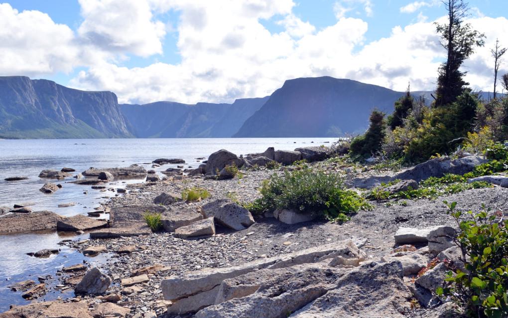 View of Western Brook Pond in Gros Morne National Park :: I've Been Bit! Travel Blog