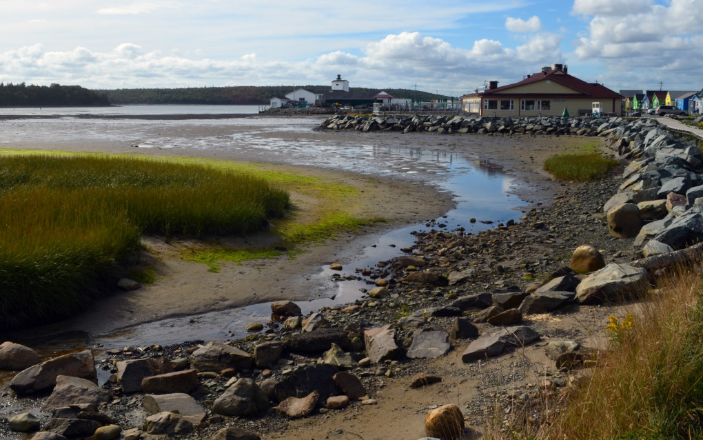 View of the Eastern Passage from the shore :: I've Been Bit! Travel Blog