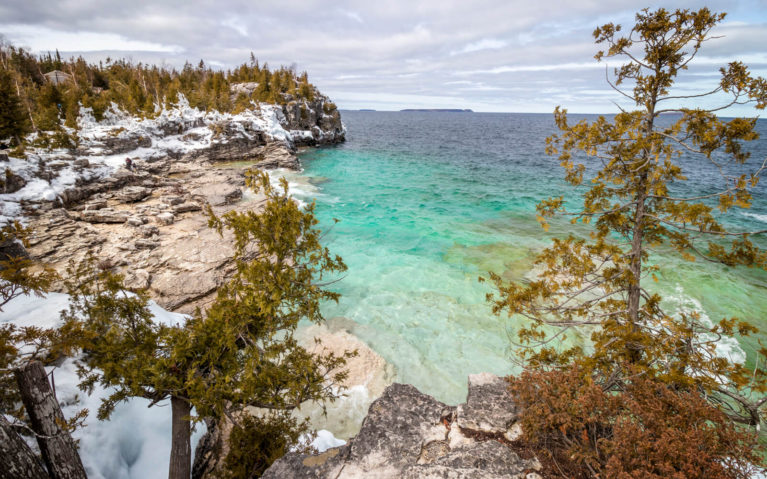 Views of Indian Head Cove in the Winter Months :: I've Been Bit! Travel Blog