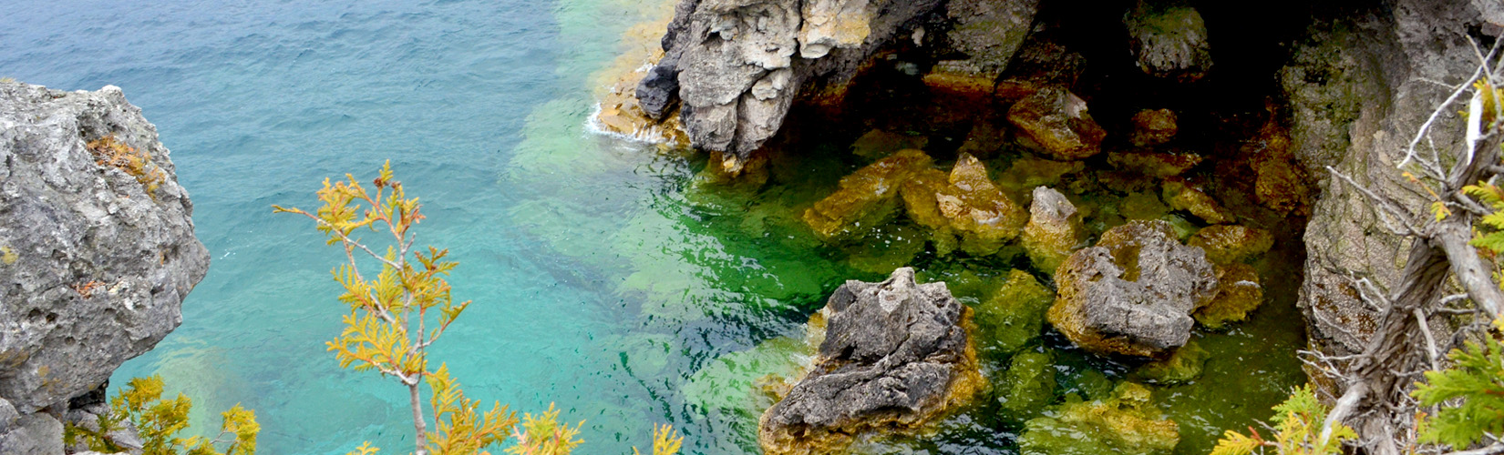 I've Been Bit! A Travel Blog :: Explore Bruce - The Grotto, Indian Head Cove & More!