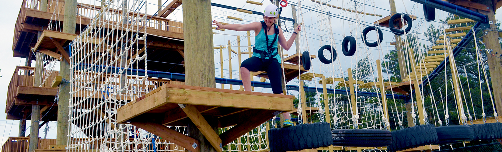 I've Been Bit! A Travel Blog :: Ascent Aerial Park