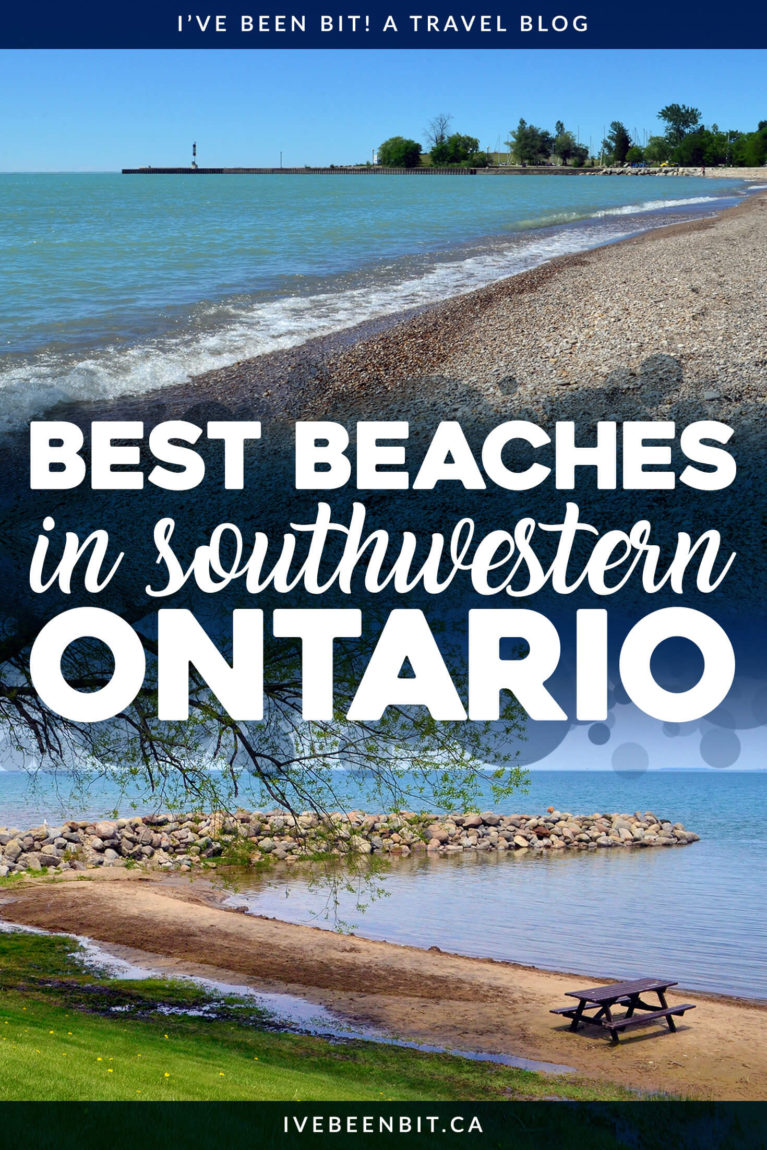 Summer and beaches go hand-in-hand! Luckily Ontario, Canada has plenty of amazing sandy destinations. You have to check out these FREE beaches in Southwestern Ontario. They're the best beaches in Southern Ontario! Travel in Ontario. Beaches in Ontario. | #Travel #Canada #Ontario #Summer #SouthernOntario #Beaches #OntarioBeaches | IveBeenBit.ca