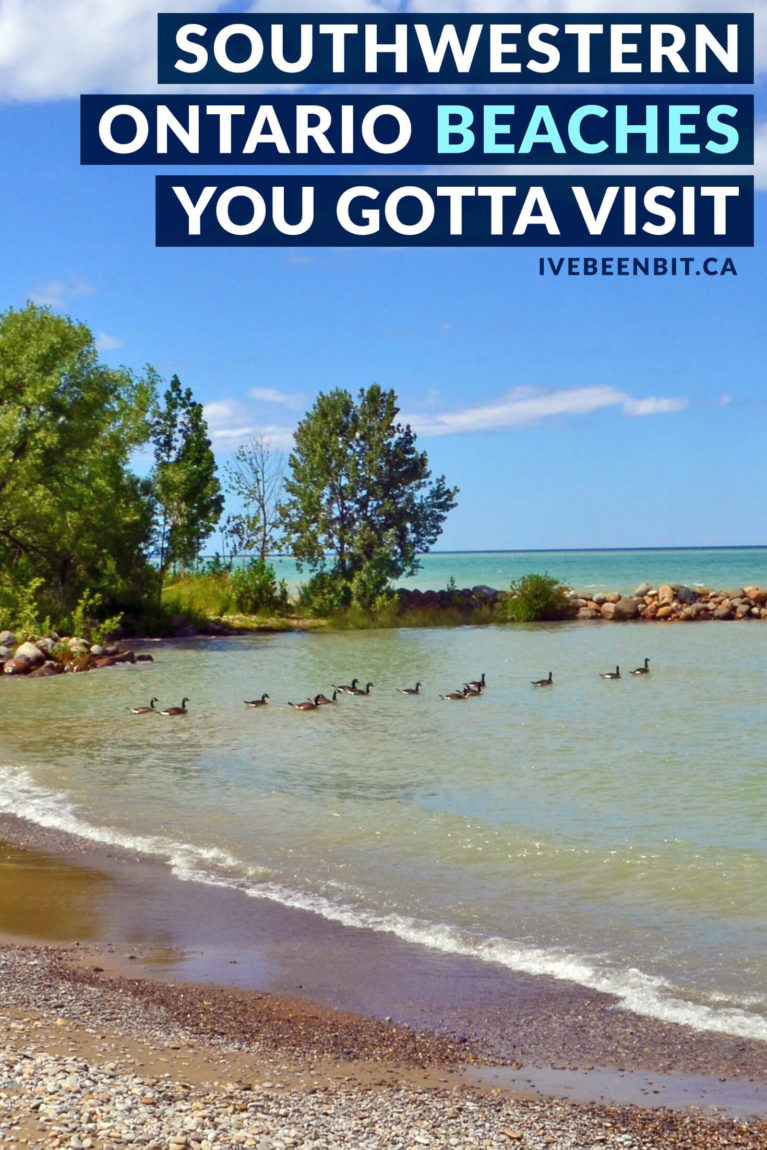 Summer and beaches go hand-in-hand! Did you know Ontario, Canada has plenty of amazing sandy destinations? These are the FREE beaches in Southwestern Ontario you HAVE to visit. They're the best beaches in Southern Ontario! Travel in Ontario. Beaches in Ontario. | #Travel #Canada #Ontario #Summer #SouthernOntario #Beaches #OntarioBeaches | IveBeenBit.ca