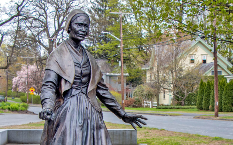 Sojourner Truth Statue in Florence, Massachusetts :: I've Been Bit! Travel Blog