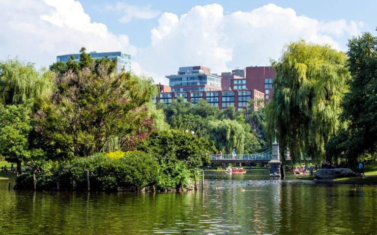 Inside the Boston Public Gardens :: I've Been Bit! Travel Blog