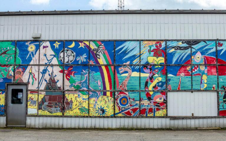 McDonalds Corners Farmers Market Mural in Lanark County :: I've Been Bit! Travel Blog