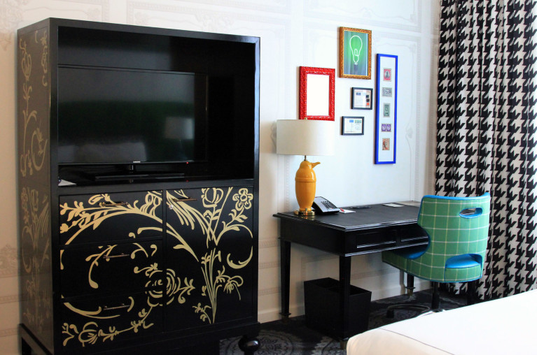 Another Shot of the Room at the Kimpton Hotel Monaco in Pittsburgh :: I've Been Bit! Travel Blog