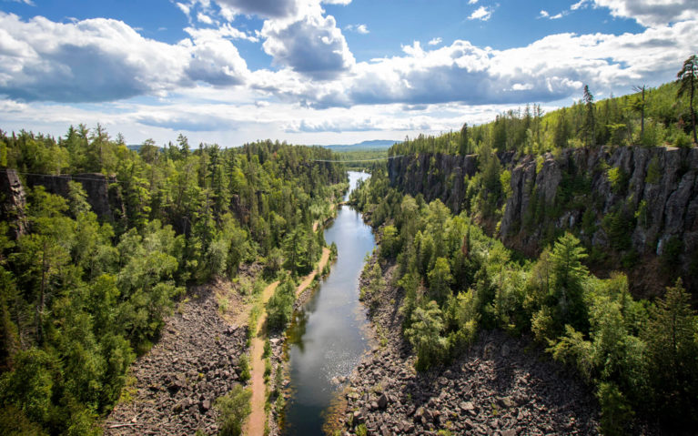 Views From the Eagle Canyon Suspension Bridge :: I've Been Bit! Travel Blog