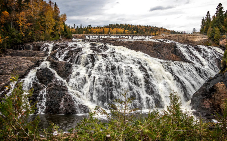 Magpie Falls aka Scenic High Falls in Northern Ontario :: I've Been Bit! Travel Blog
