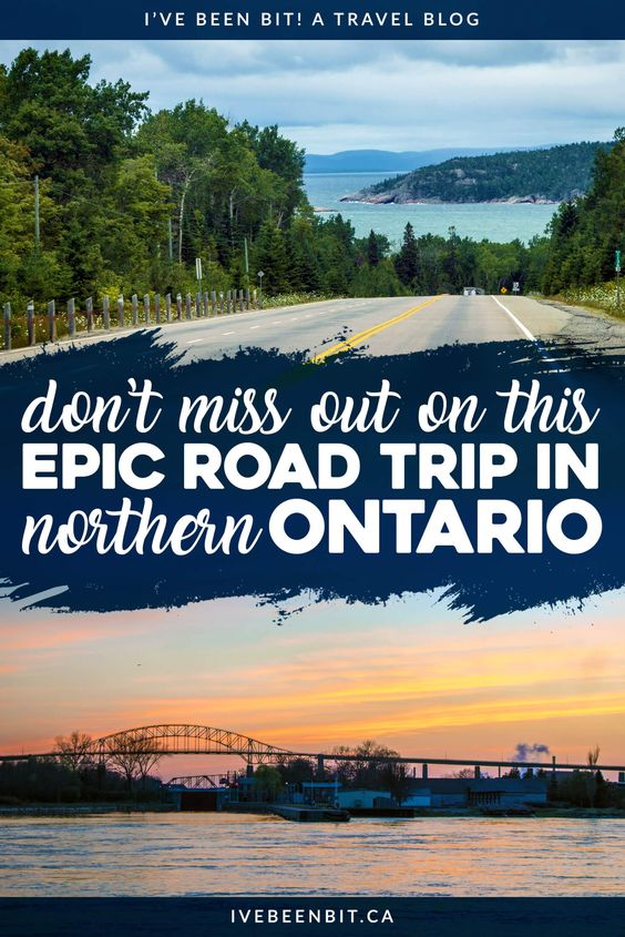 This is one Canadian road trip you won't want to miss! What better way to explore than with a Northern Ontario road trip? Check out my itinerary as you visit Sault Ste Marie, Sudbury, drive the coast of Lake Superior and more! | #travel #Canada #Ontario #LakeSuperior #Sudbury #SaultSteMarie #RoadTrip #Itinerary | IveBeenBit.ca