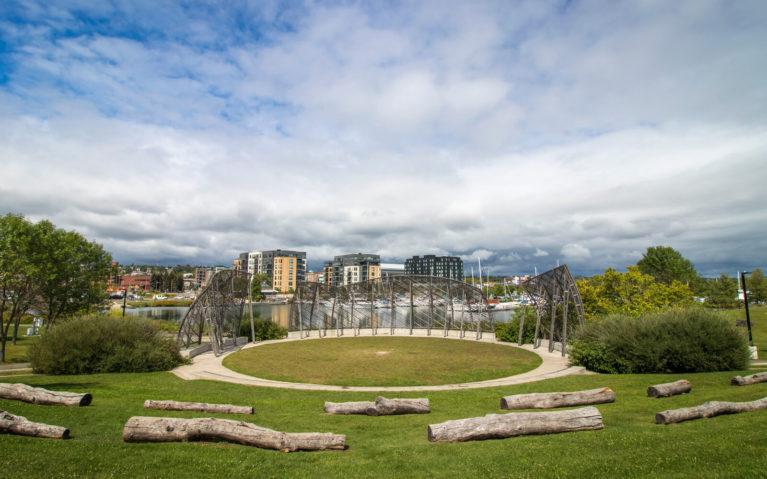 Thunder Bay Waterfront from Prince Arthur's Landing :: I've Been Bit! Travel Blog
