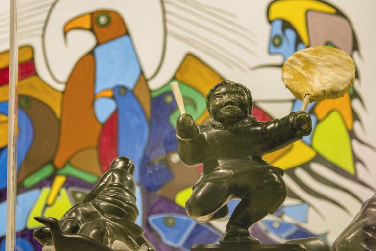 Some Artwork at the Art Gallery of Algoma in Sault Ste Marie :: I've Been Bit! Travel Blog