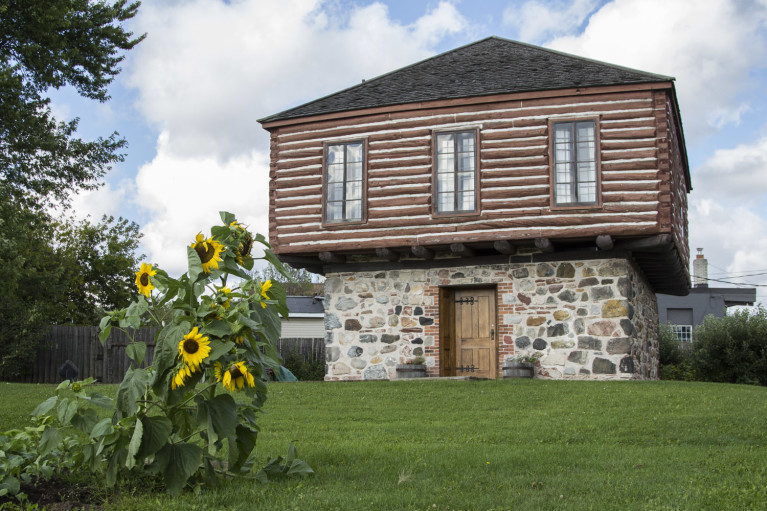 One of the Buildings at the Ermatinger Clergue National Historic Site :: I've Been Bit! A Travel Blog
