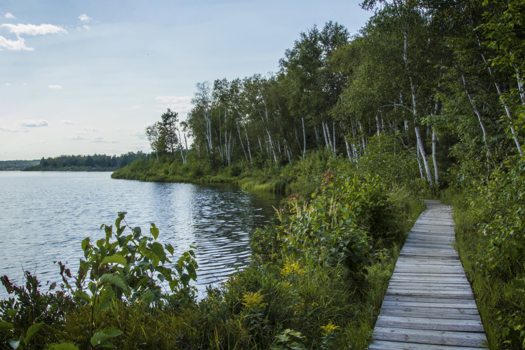 Lake Laurentian Conservation Area Boardwalk in Sudbury :: I've Been Bit! Travel Blog