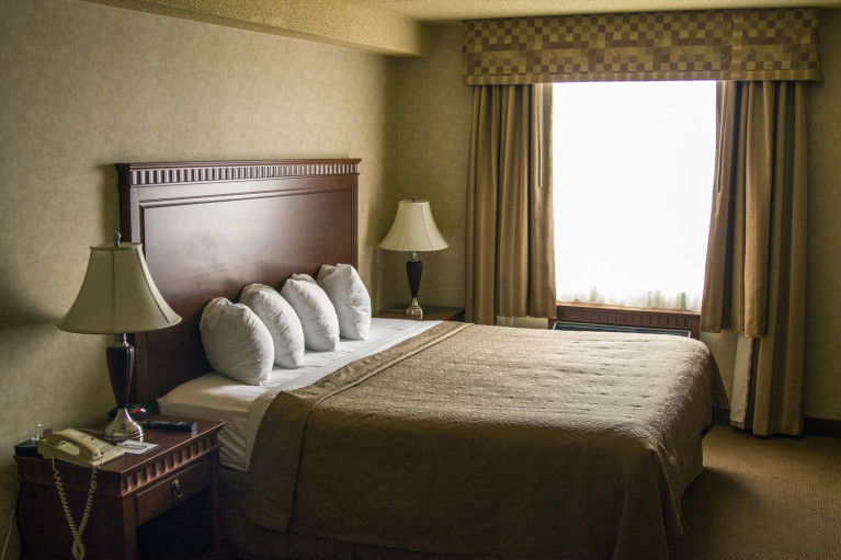 King Room at the Quality Hotel & Suite Bayfront in Sault Ste Marie :: I've Been Bit! A Travel Blog