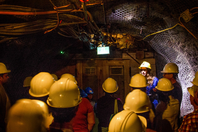 Tour of the Mine at Dynamic Earth in Sudbury :: I've Been Bit! Travel Blog