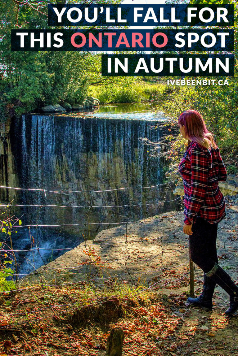 Autumn brings a wide range of colours and activities that you won't want to miss! Grey County is a destination for all seasons, but this area of Ontario in the fall is top-notch. This Grey County guide has everything you need to plan an epic autumn Ontario adventure. | #Travel #Canada #Ontario #GreyCounty #Autumn #Fall #Hiking #Waterfalls #Restaurants | IveBeenBit.ca