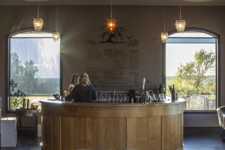 I've Been Bit! A Travel Blog - Grey County Autumn Adventures Inside Coffin Ridge Winery