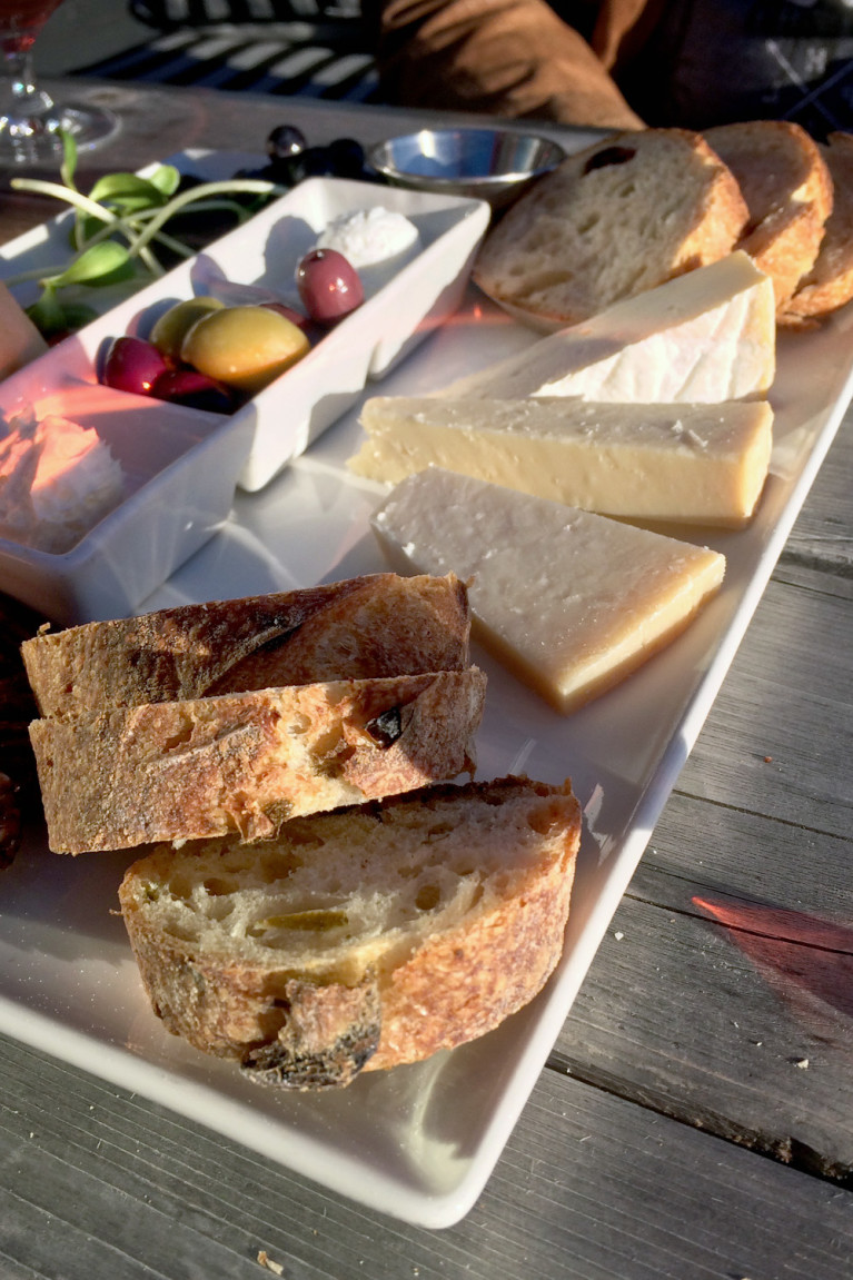 Delicious Charcuterie Plate at Coffin Ridge Winery in Grey County :: I've Been Bit! A Travel Blog