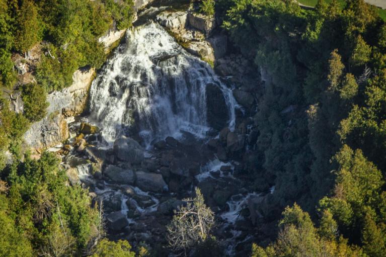 I've Been Bit! A Travel Blog - Grey County Autumn Adventures Owen Sound Flight Services Inglis Falls