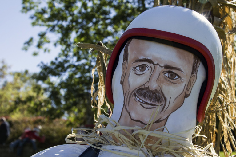 Meaford Scarecrow Invasion featuring Colonel Chris Hadfield :: I've Been Bit! A Travel Blog