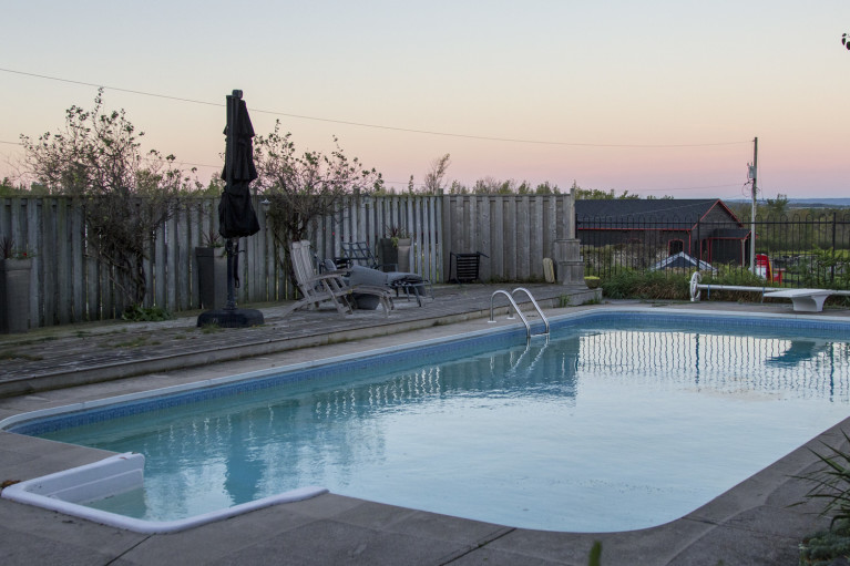 - Grey County Autumn Adventures Coffin Ridge Winery The Resting Place Outdoor Pool