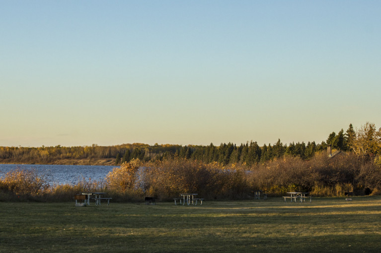 Lake Audy Campground at Sunset - 20+ Photos Guaranteed to Inspire a Manitoba Road Trip :: I've Been Bit! A Travel Blog