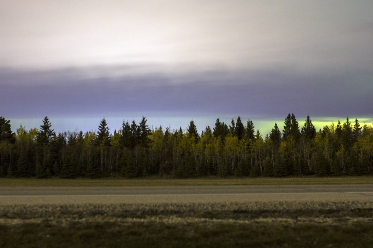 Cloudy Northern Lights - 20+ Photos Guaranteed to Inspire a Manitoba Road Trip :: I've Been Bit! A Travel Blog