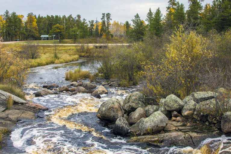 Waterfall in Whiteshell Provincial Park - 20+ Photos Guaranteed to Inspire a Manitoba Road Trip :: I've Been Bit! A Travel Blog