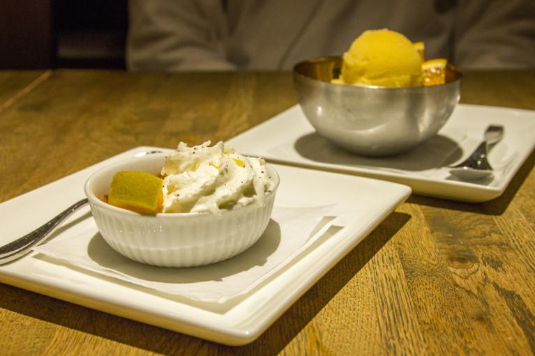 Dessert at Thermëa by Nordik Spa-Nature - Winnipeg's Modern Oasis :: I've Been Bit! A Travel Blog