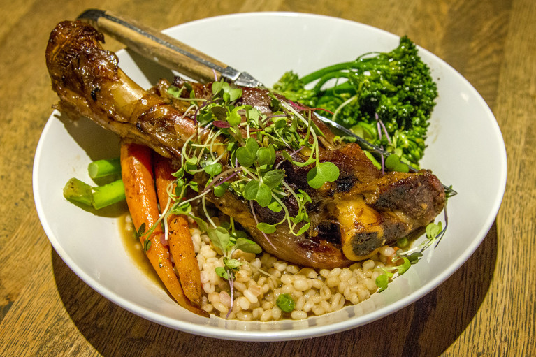 Lamb Dinner at Thermëa by Nordik Spa-Nature - Winnipeg's Modern Oasis :: I've Been Bit! A Travel Blog