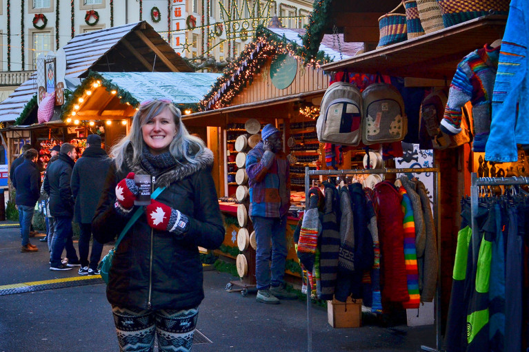 Loving life at Kassel Weihnachtsmarkt - A Fairy Tale German Christmas Market :: I've Been Bit! A Travel Blog