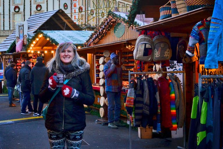 Loving life at Kassel Weihnachtsmarkt - A Fairy Tale German Christmas Market :: I've Been Bit! A Travel Blog