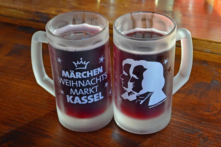Delicious Glühwein at Kassel Weihnachtsmarkt - A Fairy Tale German Christmas Market :: I've Been Bit! A Travel Blog