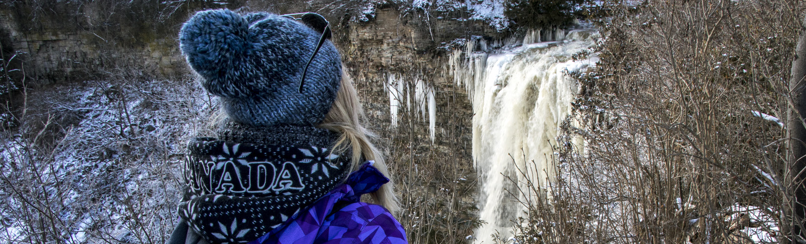 Hiking Hamilton's Borer's Falls :: I've Been Bit! A Travel Blog