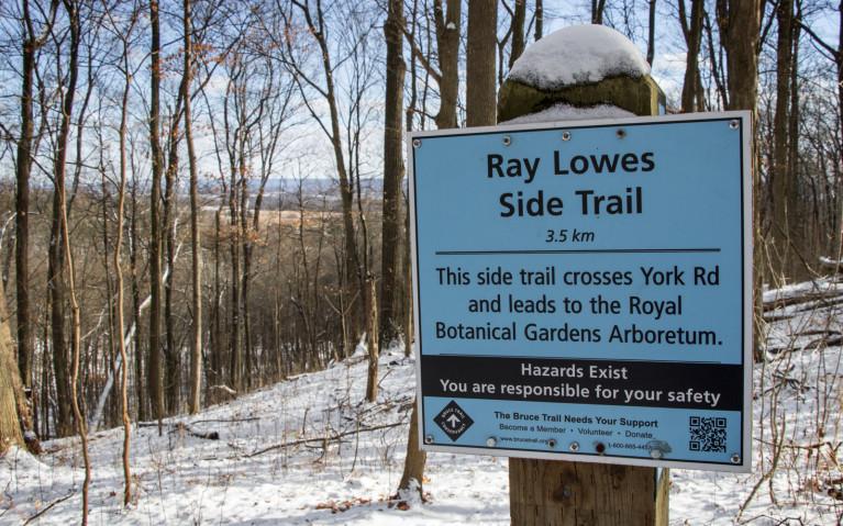 Ray Lowes Trailhead - Hiking Hamilton's Borer's Falls :: I've Been Bit! A Travel Blog
