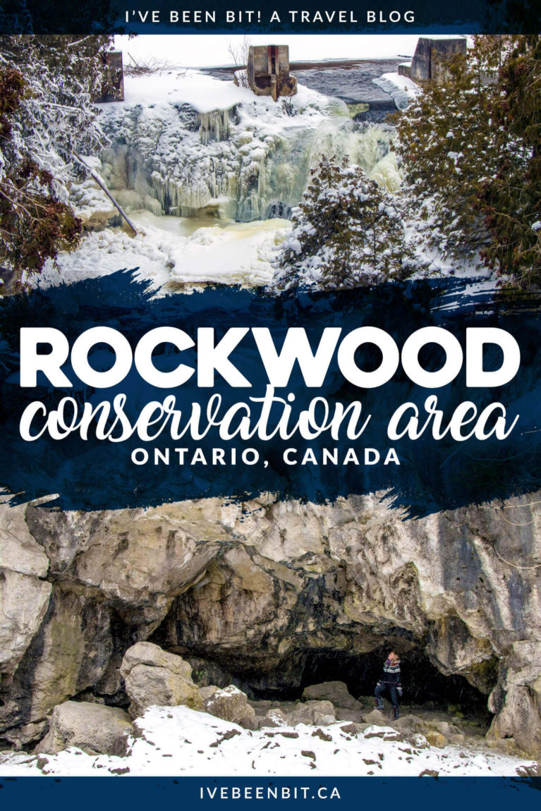 Whether you're looking for a great hike, a dose of adventure or a waterfall, Rockwood Conservation Area will surprise you with how much it has to offer! Hikes in Ontario Canada. | #Travel #Canada #Ontario #Hiking #Waterfalls | IveBeenBit.ca