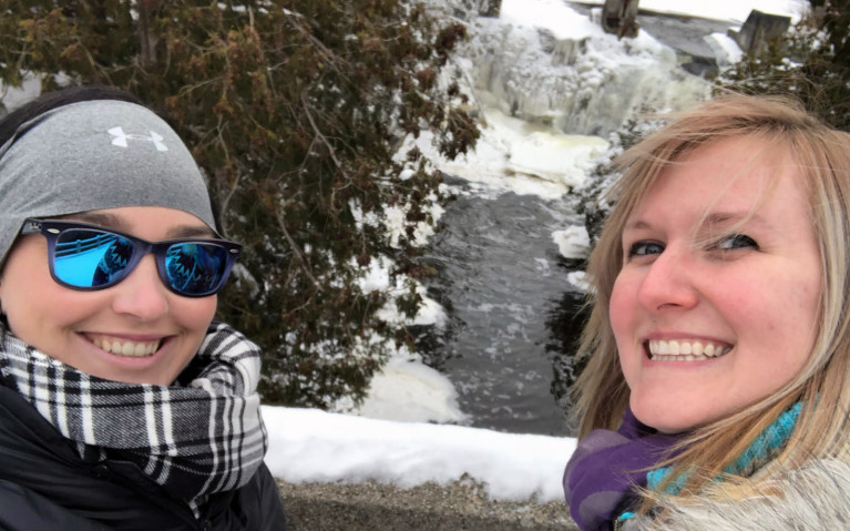 Rockwood Falls Selfie :: I've Been Bit! A Travel Blog