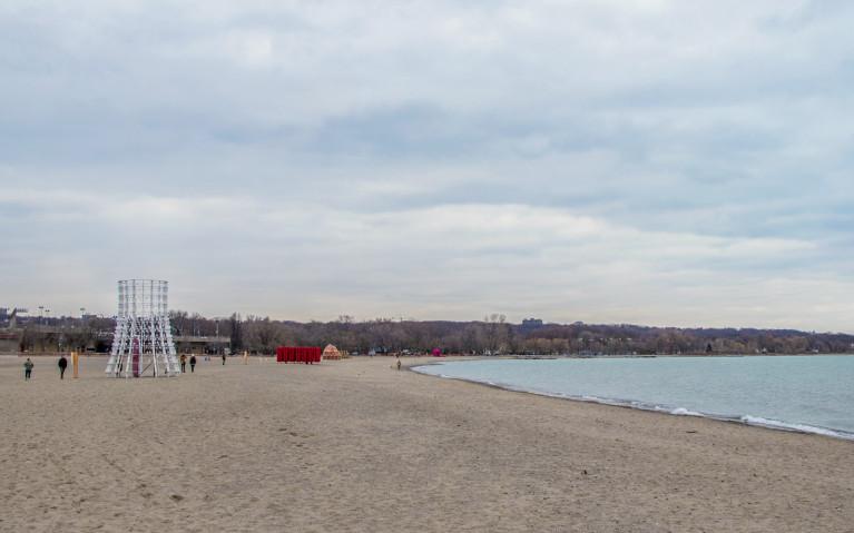 Winter Stations Location, Woodbine Beach :: I've Been Bit! A Travel Blog