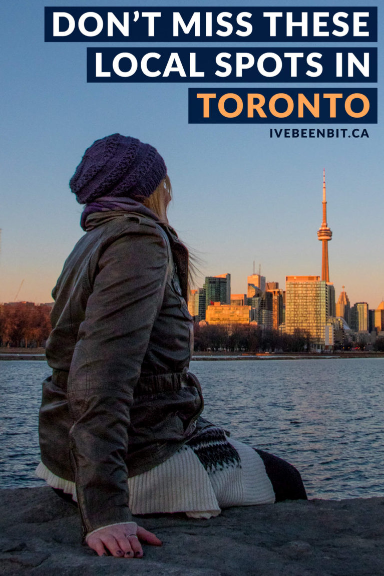 Toronto has so much to offer that it can be overwhelming. Don't worry! Take a look at these amazing things to do so you can explore Toronto like a local! Local tips for Toronto, Ontario, Canada. | #Travel #Canada #Ontario #Toronto #LocalTips | IveBeenBit.ca