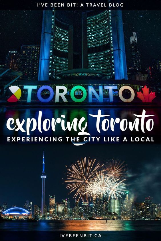 Things to do in Toronto, Canada like a local. Click for ideas for what to do, where to eat and other insider travel tips to build the perfect itinerary. | #Travel #Canada #Ontario #Toronto | Toronto Travel Ontario Places to Visit Destinations | Toronto Vacation City Guides | Fun Things to do in Toronto Winter Fall Summer Spring | IveBeenBit.ca
