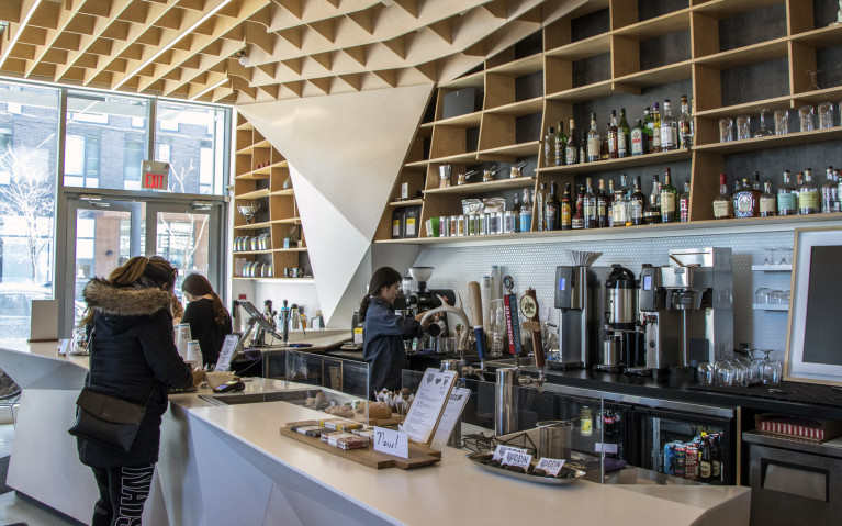 Toronto Canada Things to Do, Grab a Coffee at Odin :: I've Been Bit! A Travel Blog